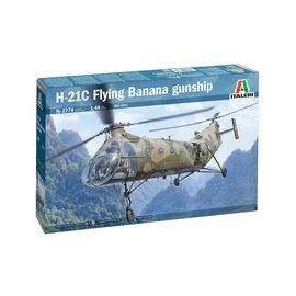 "Italeri Italeri - Piasecki H-21C Shawnee ""Flying Banana"" Gunship - 1:48"