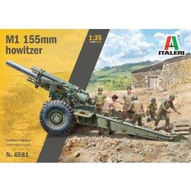 Italeri Italeri - M1 155mm Howitzer with Crew - 1:35