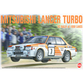 NuNu Model Kit NuNu - Mitsubishi Lancer Turbo '82 Rally 1000 Lakes - 1:24