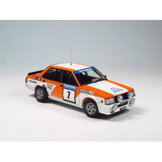 NuNu Model Kit Mitsubishi Lancer Turbo '82 Rally 1000 Lakes - 1:24