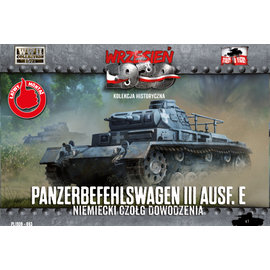 First to Fight First to Fight - Panzerbefehlswagen III Ausf.E - 1:72