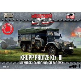 First to Fight First to Fight - Krupp-Protze 81 German Truck - 1:72