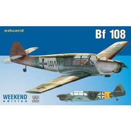 Eduard Eduard - Messerschmitt Bf108 - Weekend Edition - 1:32