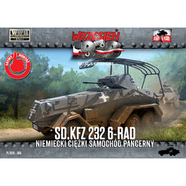 First to Fight First to Fight - Sd.Kfz.232 6-Rad - 1:72