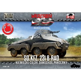 First to Fight First to Fight - German Sd.Kfz.231 8-rad - 1:72
