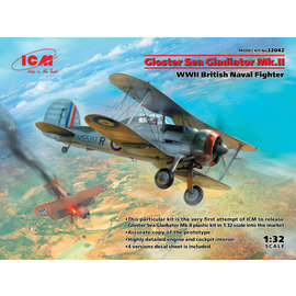 "ICM ICM - Gloster Sea Gladiator Mk.II ""British Naval Fighter"" - 1:32"
