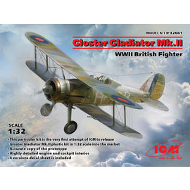 ICM ICM - Gloster Gladiator Mk.II - 1:32