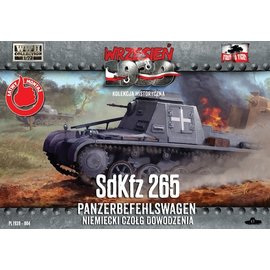 First to Fight First to Fight - German Sd.Kfz.265 Panzerbefehlswagen  - 1:72