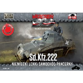 First to Fight First to Fight - German Sd.Kfz.222  - 1:72