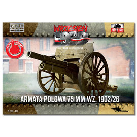 First to Fight First to Fight - Field Gun 75mm wz.1902/26  - 1:72