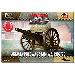 First to Fight Field Gun 75mm wz.1902/26  - 1:72