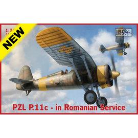IBG Models IBG - PZL P.11c - in Romanian Service - 1:32