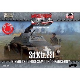 First to Fight First to Fight - German Sd.Kfz.221  - 1:72