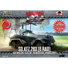 First to Fight First to Fight - Sd.Kfz.263 6-rad  - 1:72