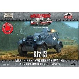 First to Fight First to Fight - Kfz.13 Maschinengewehrkraftwagen  - 1:72