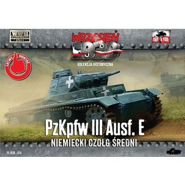 First to Fight First to Fight - Pz.Kpfw.III Ausf.E  - 1:72