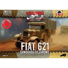 First to Fight First to Fight -Polish Fiat 621L truck  - 1:72