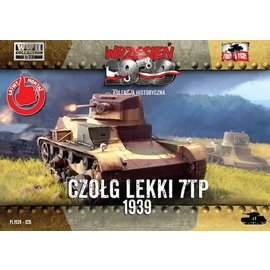 First to Fight First to Fight - Polish 7TP Single Turret Polish Light Tank  - 1:72
