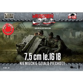 First to Fight First to Fight - 7,5 cm LeIG 18 - German Infantry Gun (WWII)  - 1:72
