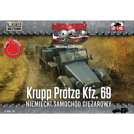 First to Fight First to Fight - Krupp-Protze Kfz.69  - 1:72