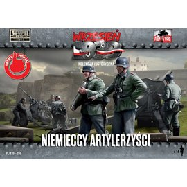 First to Fight First to Fight - German Artillery Crew (WWII)  - 1:72