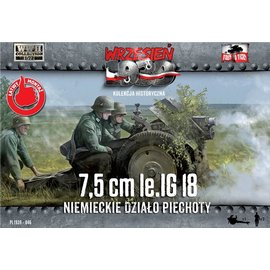 First to Fight First to Fight - LiG 18 German Infantry Gun on DS wheels  - 1:72