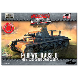 First to Fight First to Fight - Pz.BfWg III Ausf.D1  - 1:72
