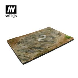 Vallejo Vallejo - Wooden Airfield Surface - Flugzeugabstellfläche aus Holzbohlen - 1:35/1:48