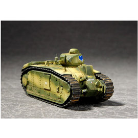 Trumpeter Trumpeter - French Char B1Heavy Tank - 1:72