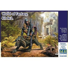 Master Box Master Box - World of Fantasy - Kit No. 2 - 1:24
