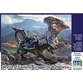 Master Box Master Box - World of Fantasy - Graggeron & Halseya - 1:24