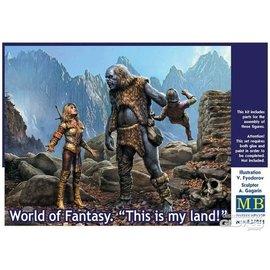 Master Box Master Box - World of Fantasy - This is my land! - 1:24