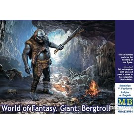Master Box Master Box - World of Fantasy - Giant Bergtroll - 1:24
