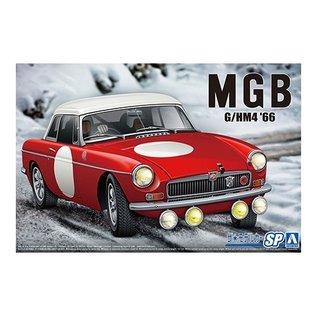 Aoshima BLMC G/HM4 MG-B Club Rally '66 - 1:24
