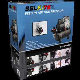 Belkits Belkits - Ölfreier Kompakt-Kolbenkompressor mit 3 Liter Lufttank