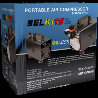 Belkits Ölfreier Kompakt-Kolbenkompressor