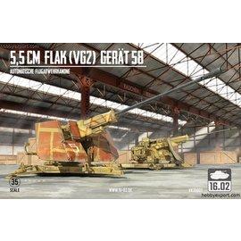 Customscale/16.02 16.02. - 5,5cm Flak Gerät 58 VG2 - 1:35