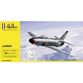Heller Heller - SAAB 32 Lansen - 1:72