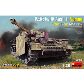 MiniArt MiniArt - Pz.Kpfw.IV Ausf. H Vomag early prod. May 1943 with Interieur-Kit - 1:35
