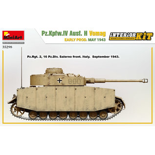 MiniArt Pz.Kpfw.IV Ausf. H Vomag early prod. May 1943 with Interieur-Kit - 1:35
