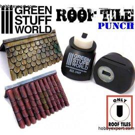 Green Stuff World Green Stuff World - Roof Tile Punch - Dachschindel-Locher #1417