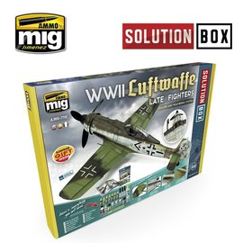 AMMO AMMO - WWII Luftwaffe late Fighters - Solution Box