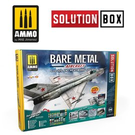 AMMO by MIG AMMO - Bare metal Aircraft - Solution Box