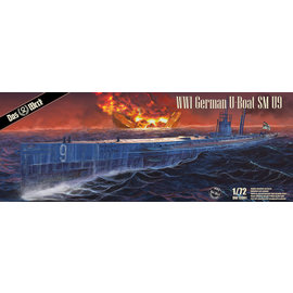 Das Werk Das Werk - WWI German U-Boat SM U9 - 1:72
