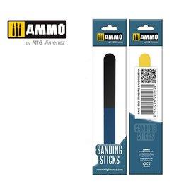 AMMO AMMO - Standard Sanding Stick - Vierfach-Sandpapierfeile