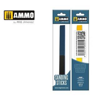 AMMO Multipurpose Sanding Stick - Sechsfach-Sandpapierfeile