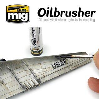 AMMO Oilbrusher MEDIUM GREY