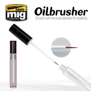 AMMO Oilbrusher DARK BROWN
