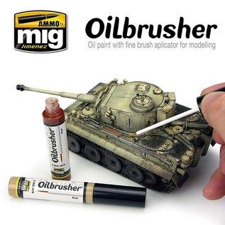 AMMO Oilbrusher MECHA LIGHT GREEN
