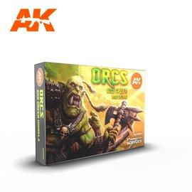 "AK Interactive AK Interactive - 3rd Gen. Acryl. Set ""Orcs and green models"""